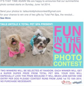 FB Contest picture for Blog